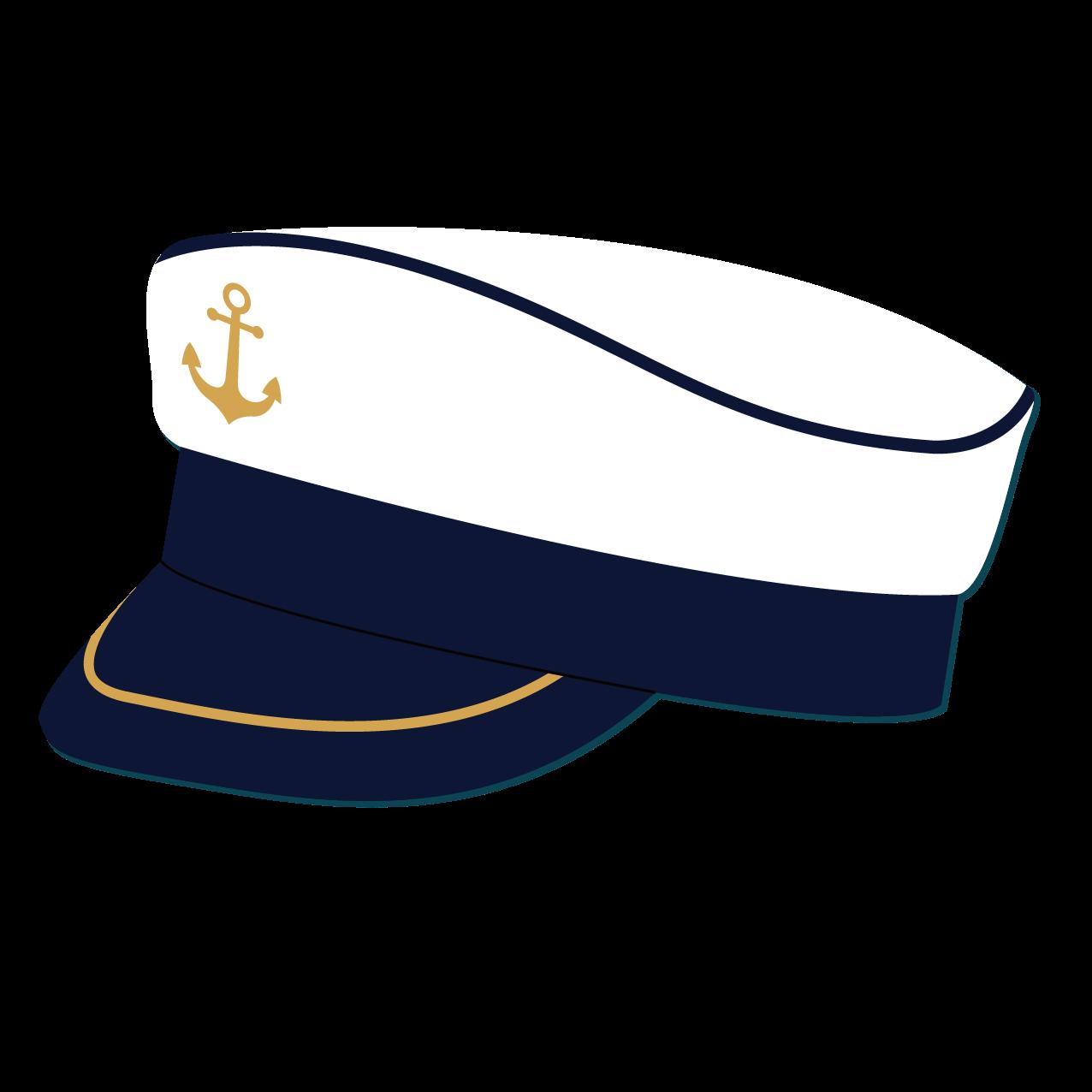 Hats clipart sailor's. Sailor cap hat navy