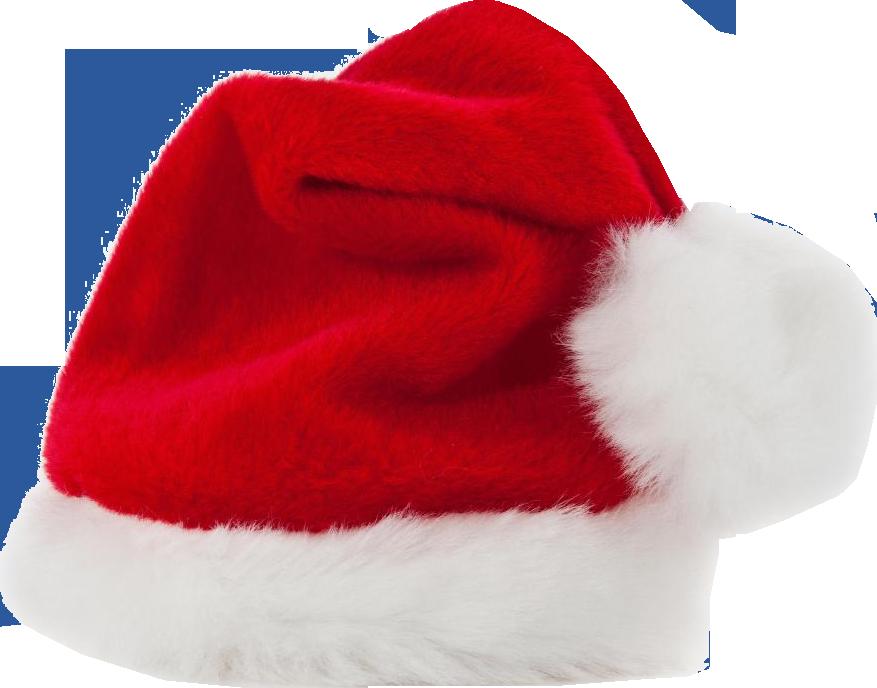 Christmas santa claus png. Clipart hat santas