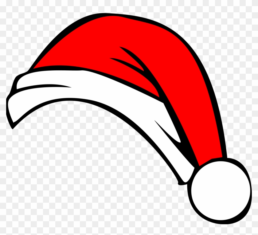 Hat clipart christmas. Santa all about free