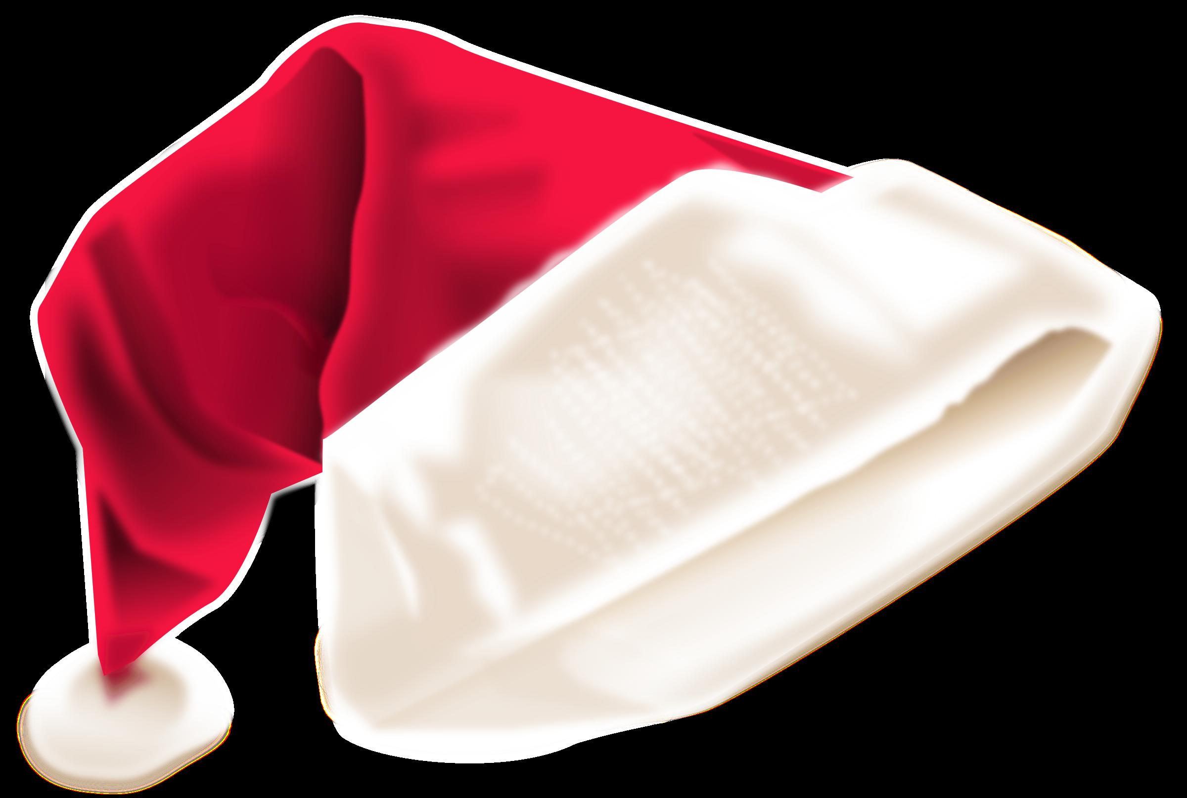 Clipart hat santas. Santa s cap big