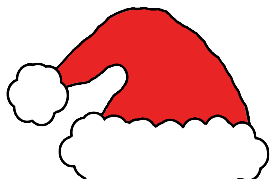 Clipart hat santas. Eridoodle designs and creations