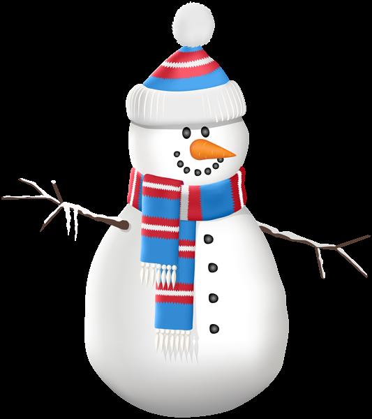 Clipart hat scarf. Snowman and transparent clip