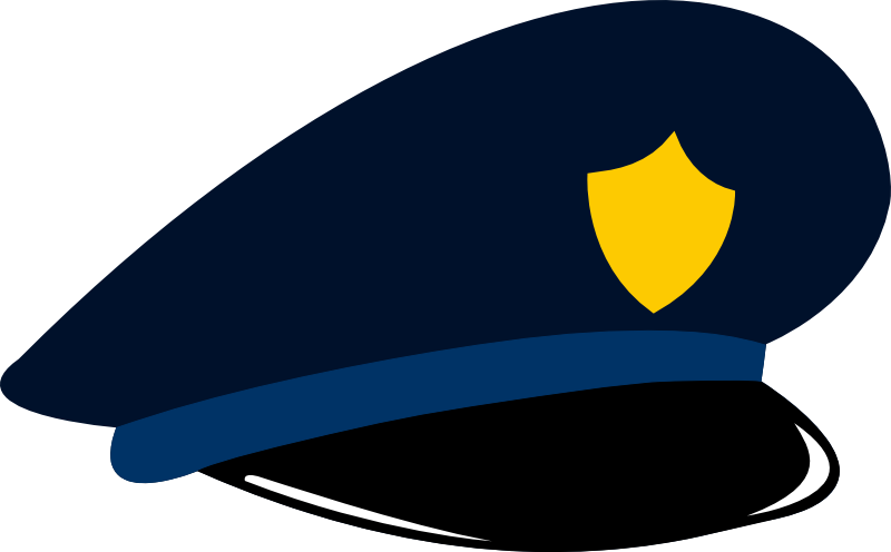 Panda free images policeclipart. Handcuff clipart police cap