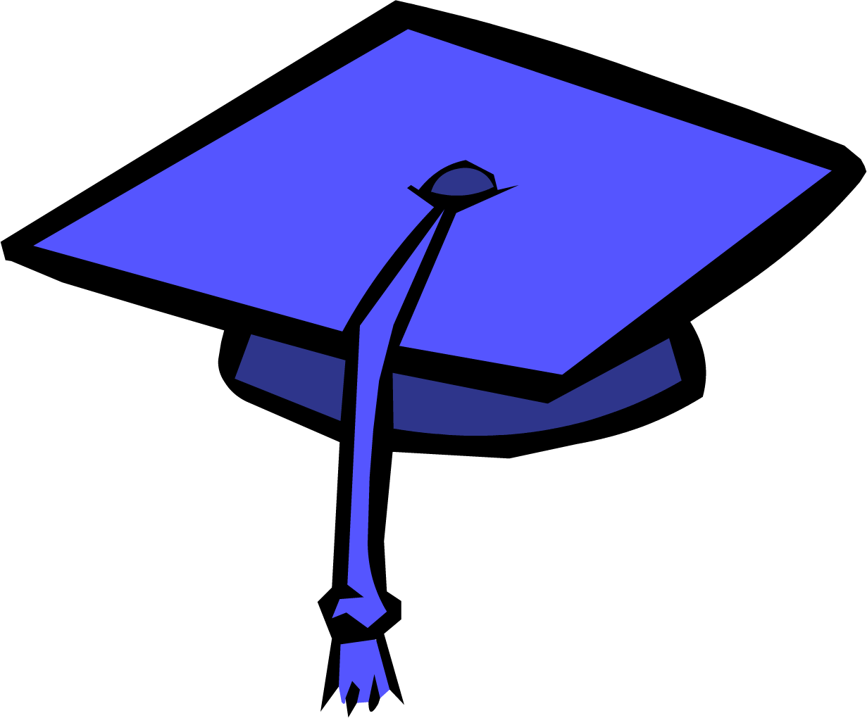 collection of cap. Graduation clipart backdrop