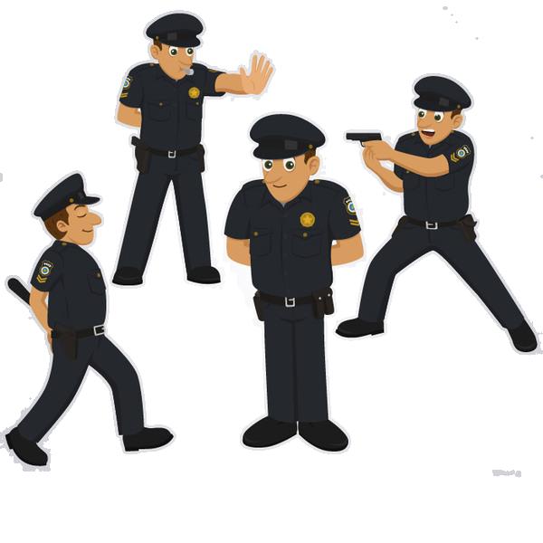 Police officer clip art. Policeman clipart uniform