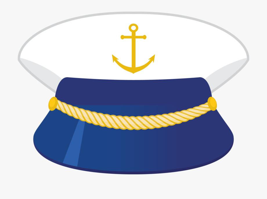 Captain png . Nautical clipart hat