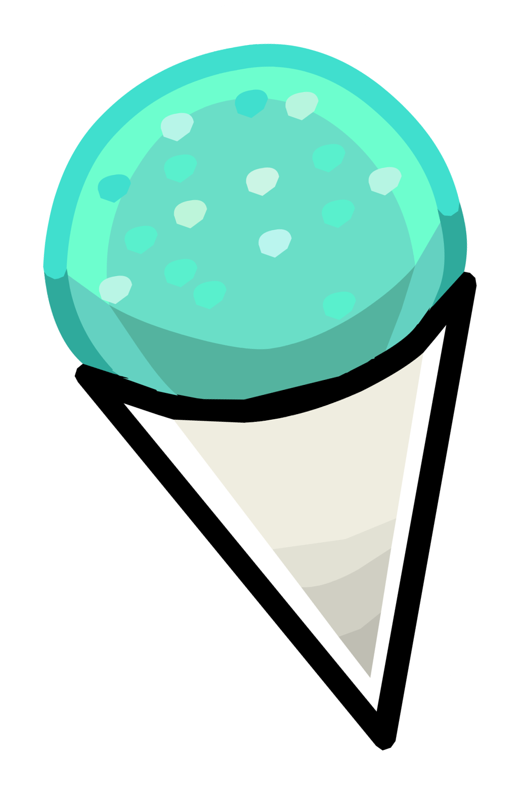 Image cone pin png. Dot clipart snow