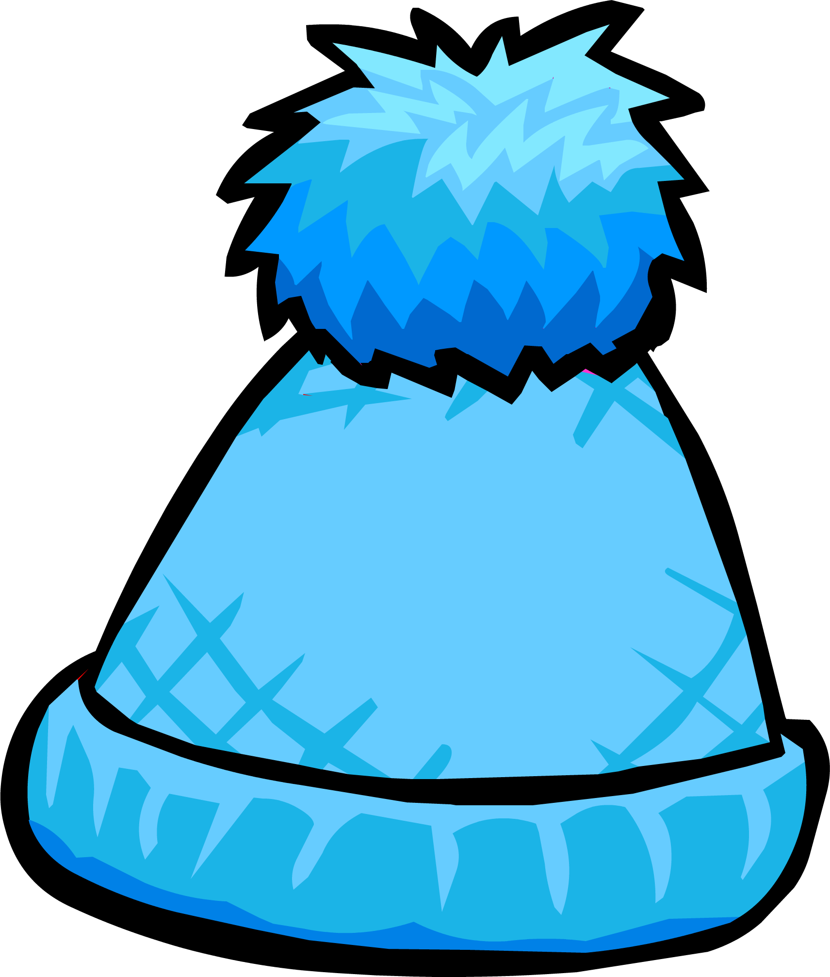collection of toque. Winter clipart beanie
