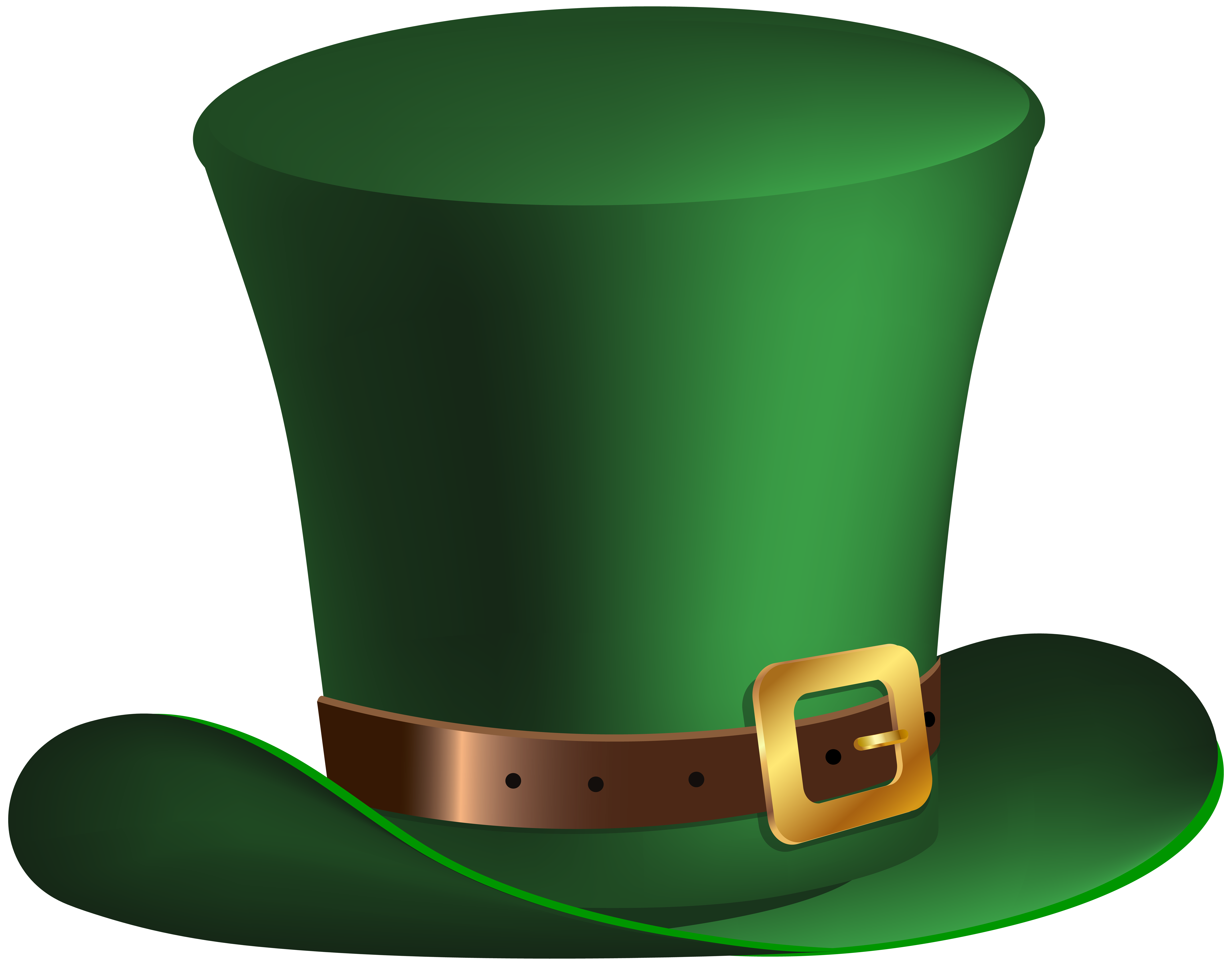 Costume clipart accessory. St patrick day green