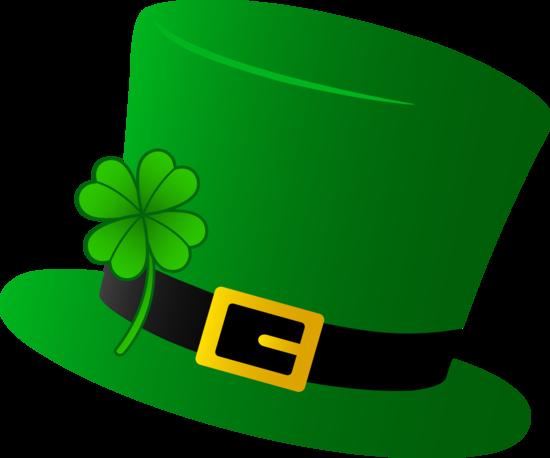 Green saint patricks free. Hat clipart st patrick's day
