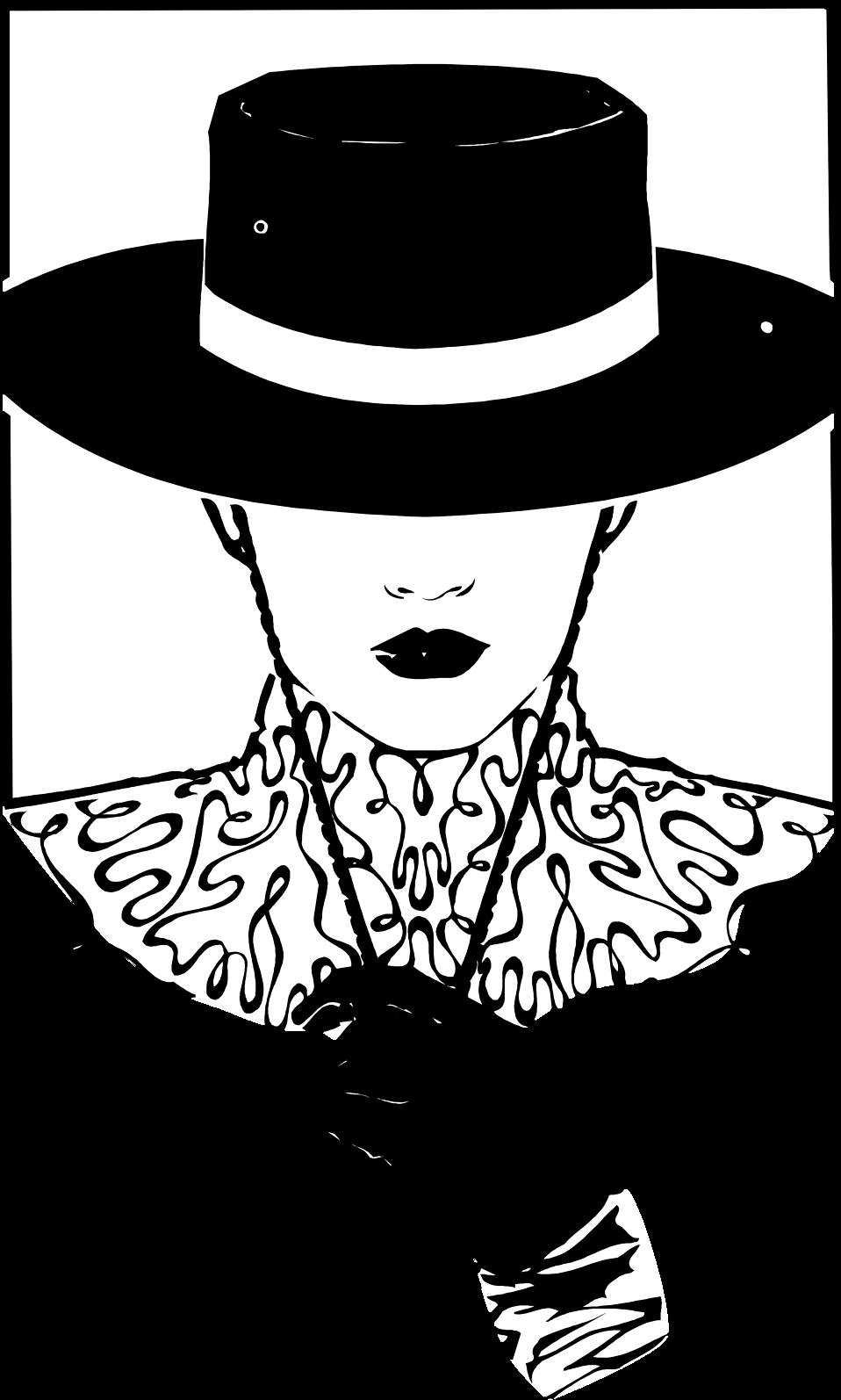 Steampunk clipart hat. Woman beautiful free stock