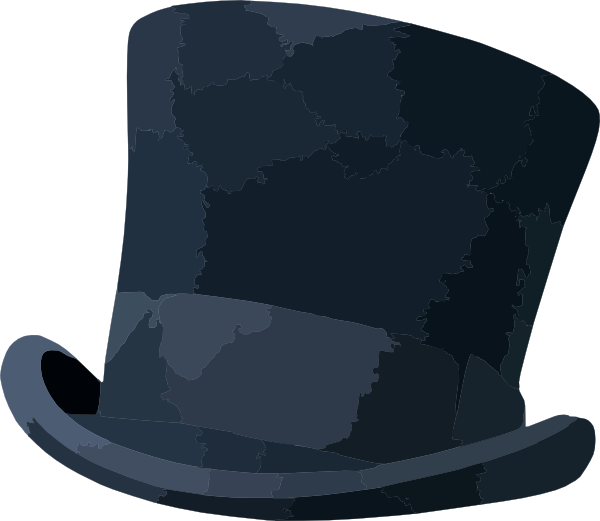 Steampunk clipart steampunk top hat. Clip art at clker
