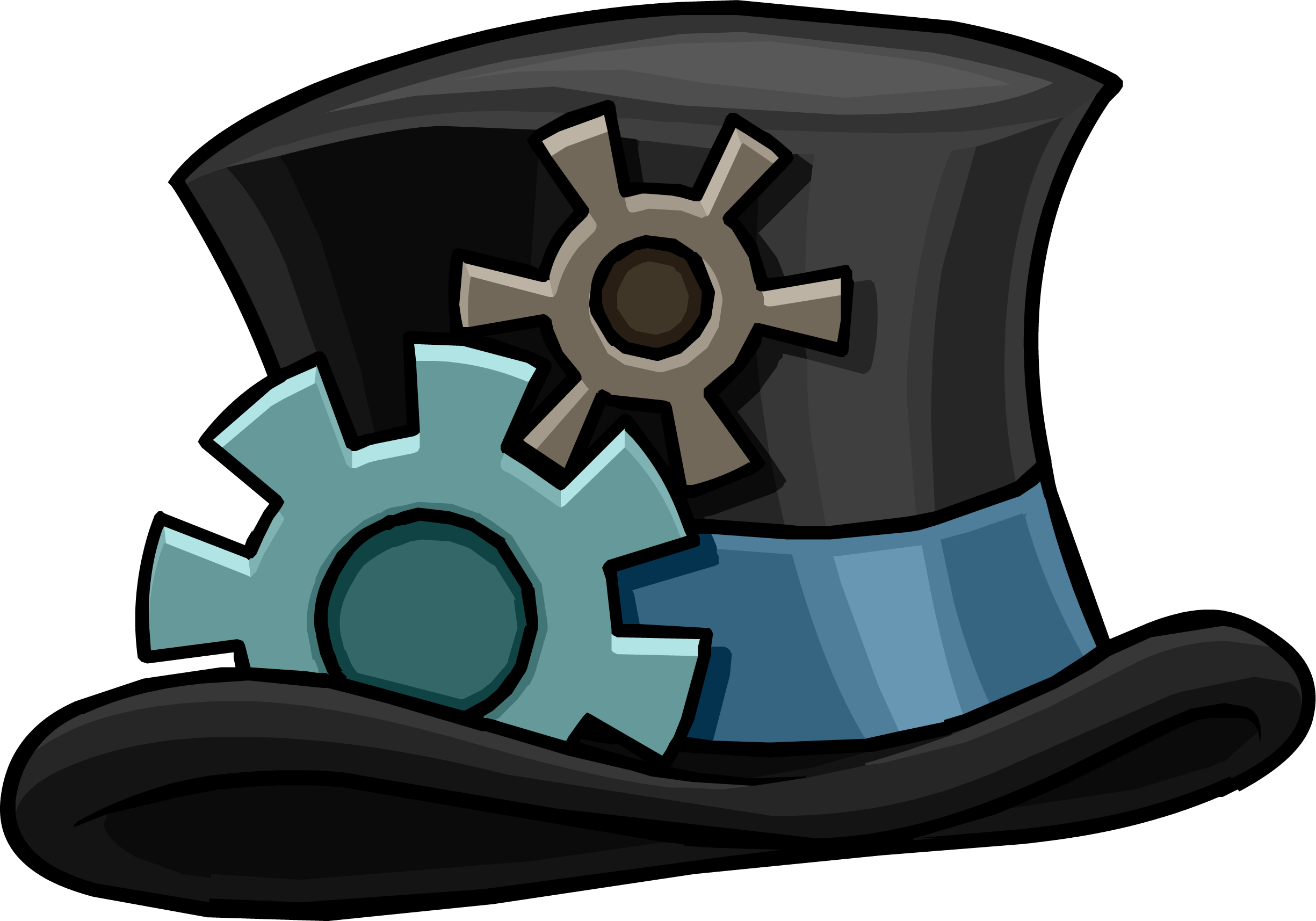 Hat clipart pharaoh. Image puffle gear png