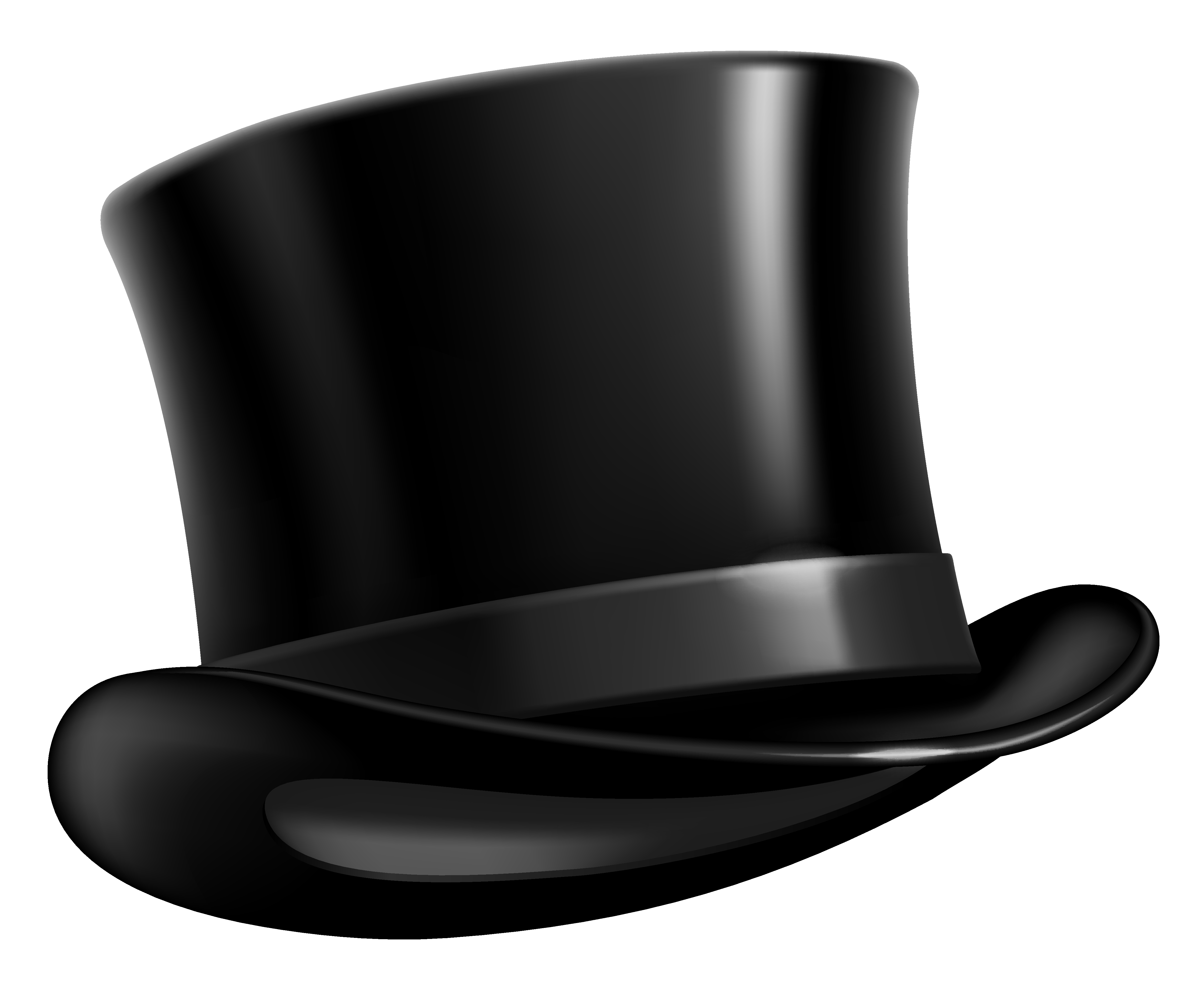 Black top hat png. Mittens clipart beanie