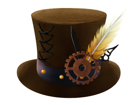 Steampunk clipart hat. Free cliparts download clip