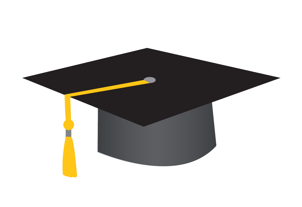 Student clipart graduation.  collection of cap