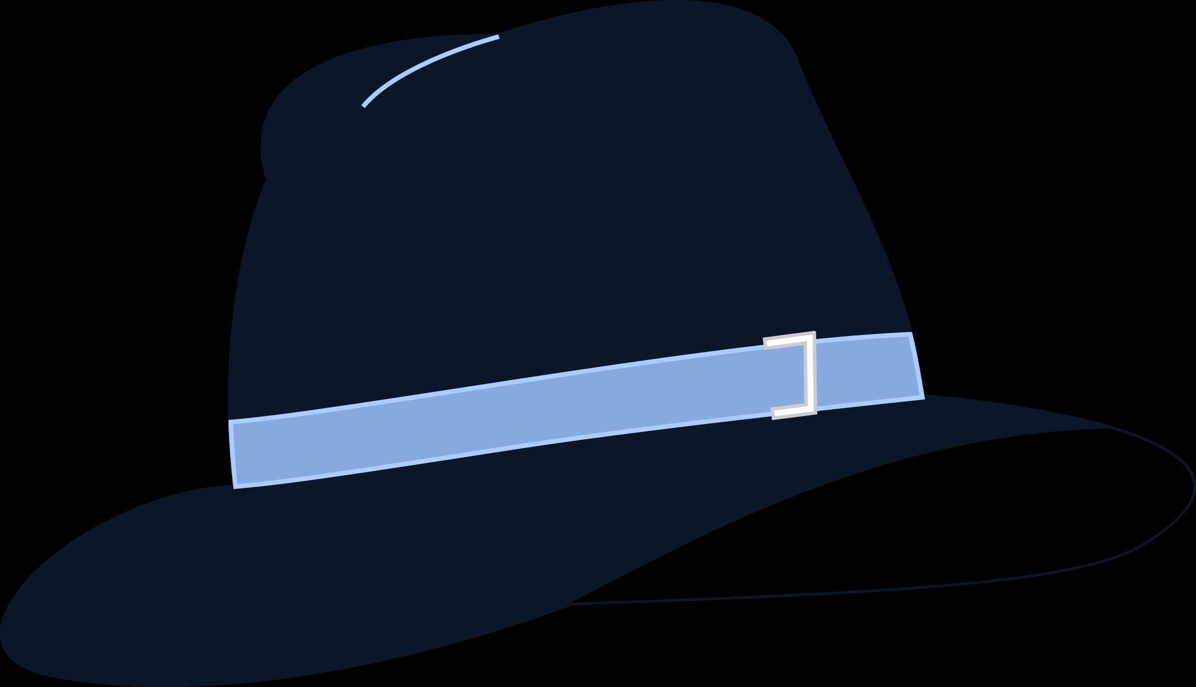 Hat clipart vector. Fedora big image png