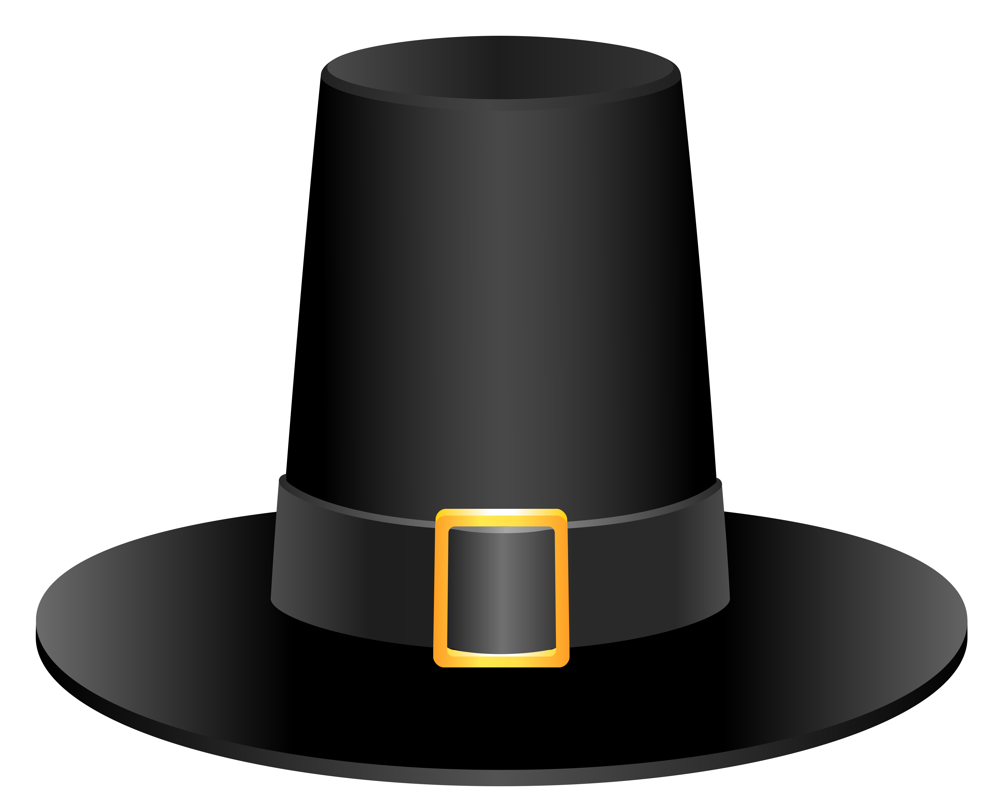 Black pilgrim hat picture. Pilgrims clipart printable
