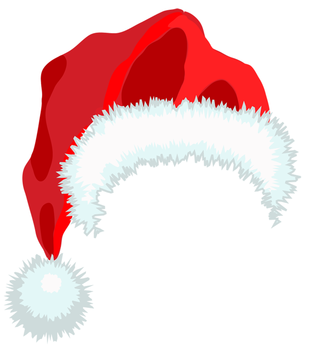Winter clipart accessory. Santa hat png christmas