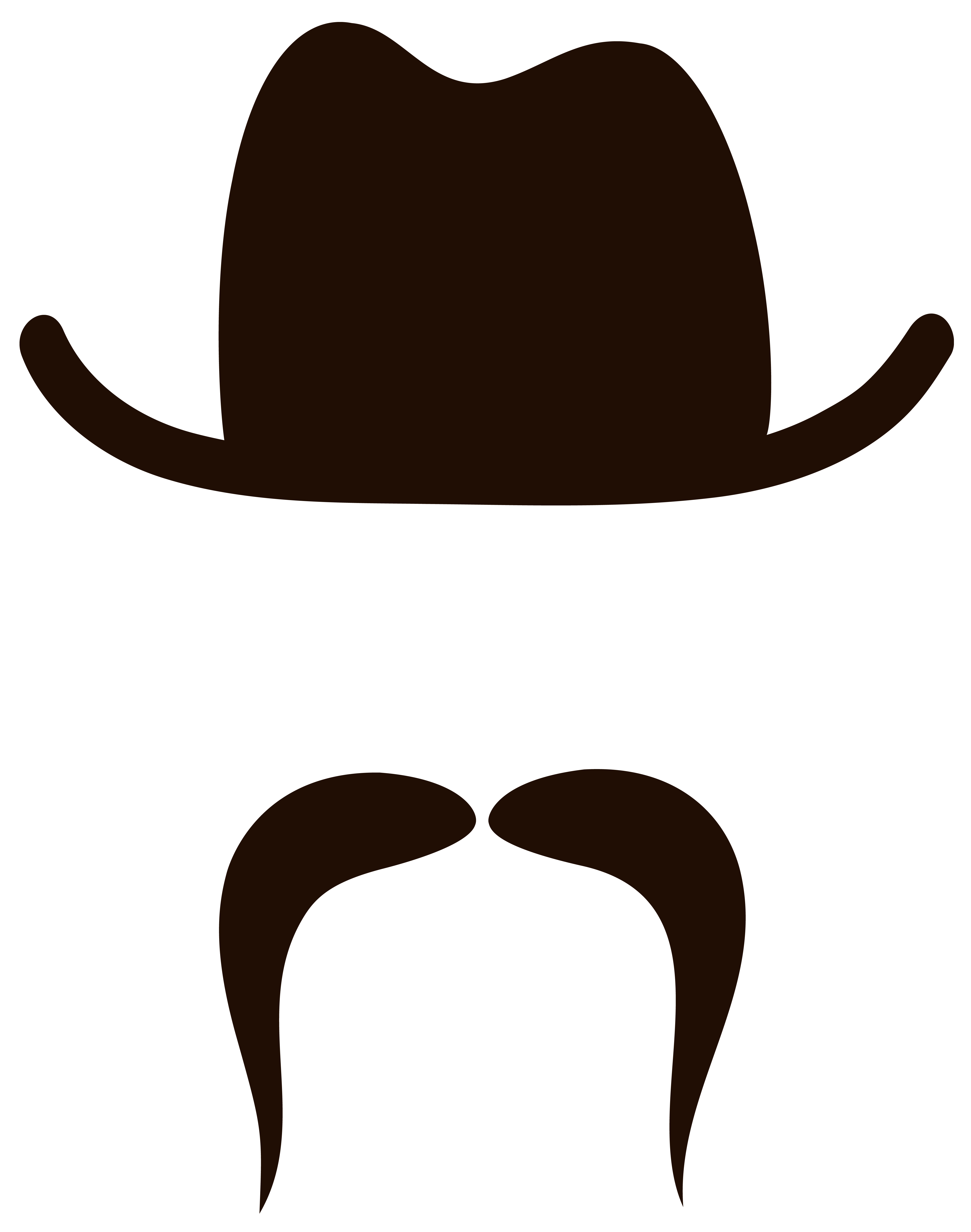 Movember hat and png. Clipart mustache glass frame