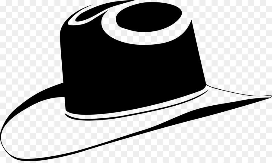 Clipart hat transparent background. Cowboy white line clip