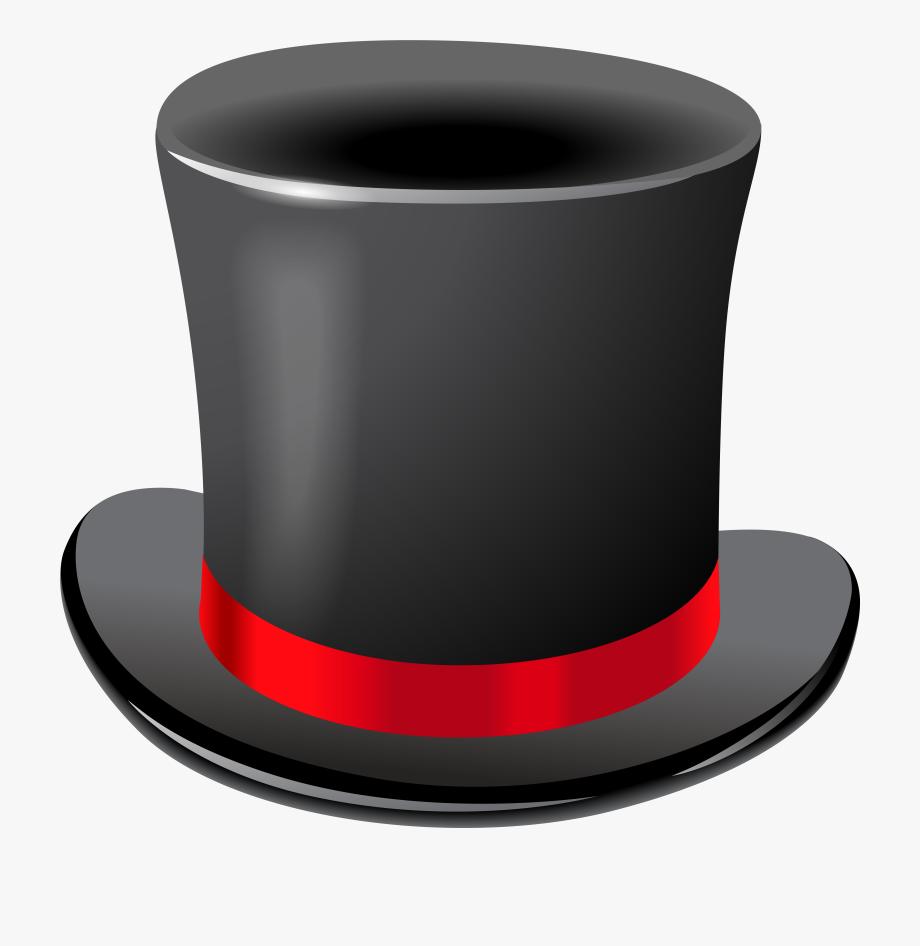Black top png clip. Clipart hat transparent background