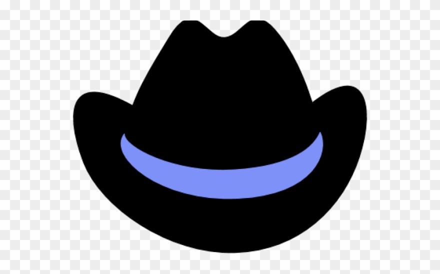 Cowboy invisible cartoon . Clipart hat transparent background