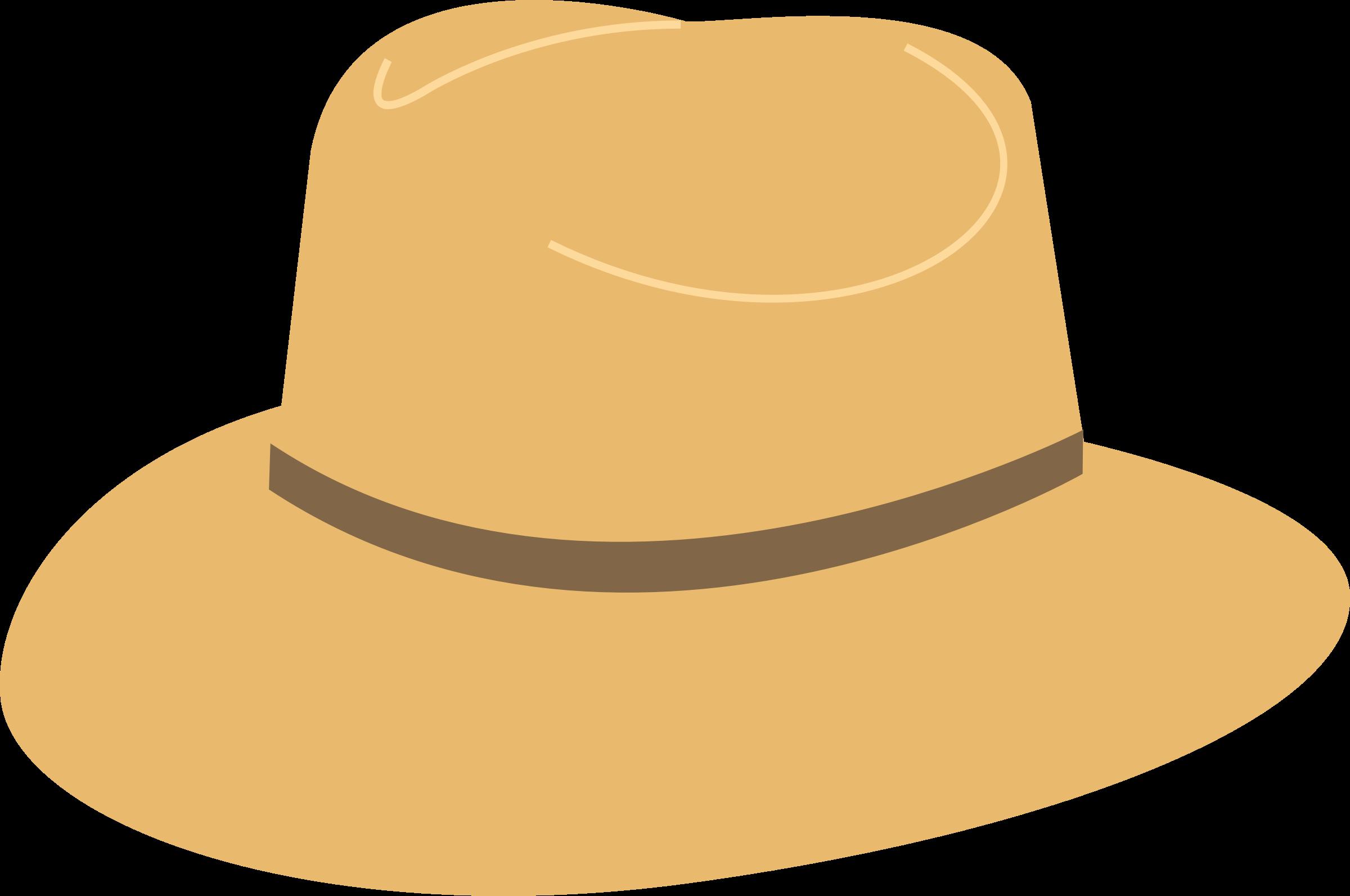 Clipart hat vector. Sun