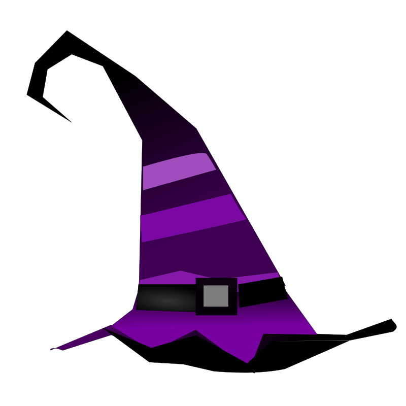 Witch medium image png. Clipart hat vector