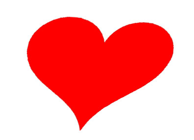 Panda free images. Clipart heart