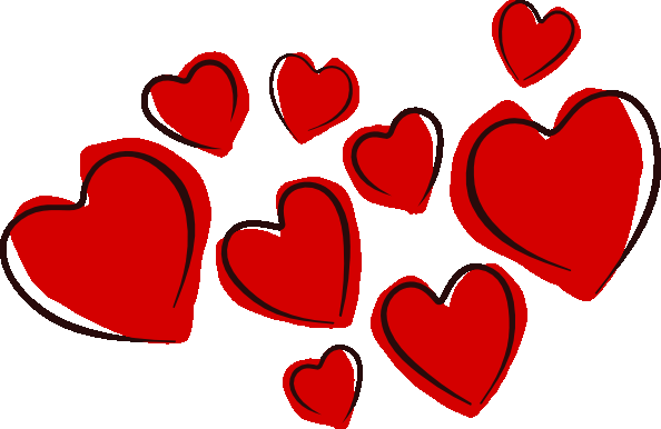Clipart heart. Panda free images clip