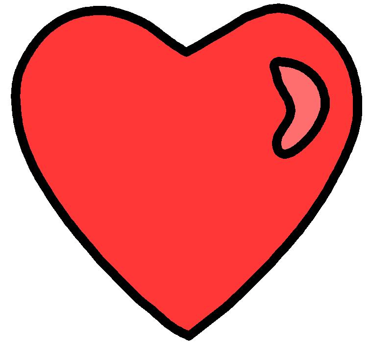 Clip art by darkslavar. Clipart heart