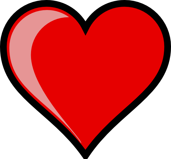 Clipart heart animated. Clip art at clker