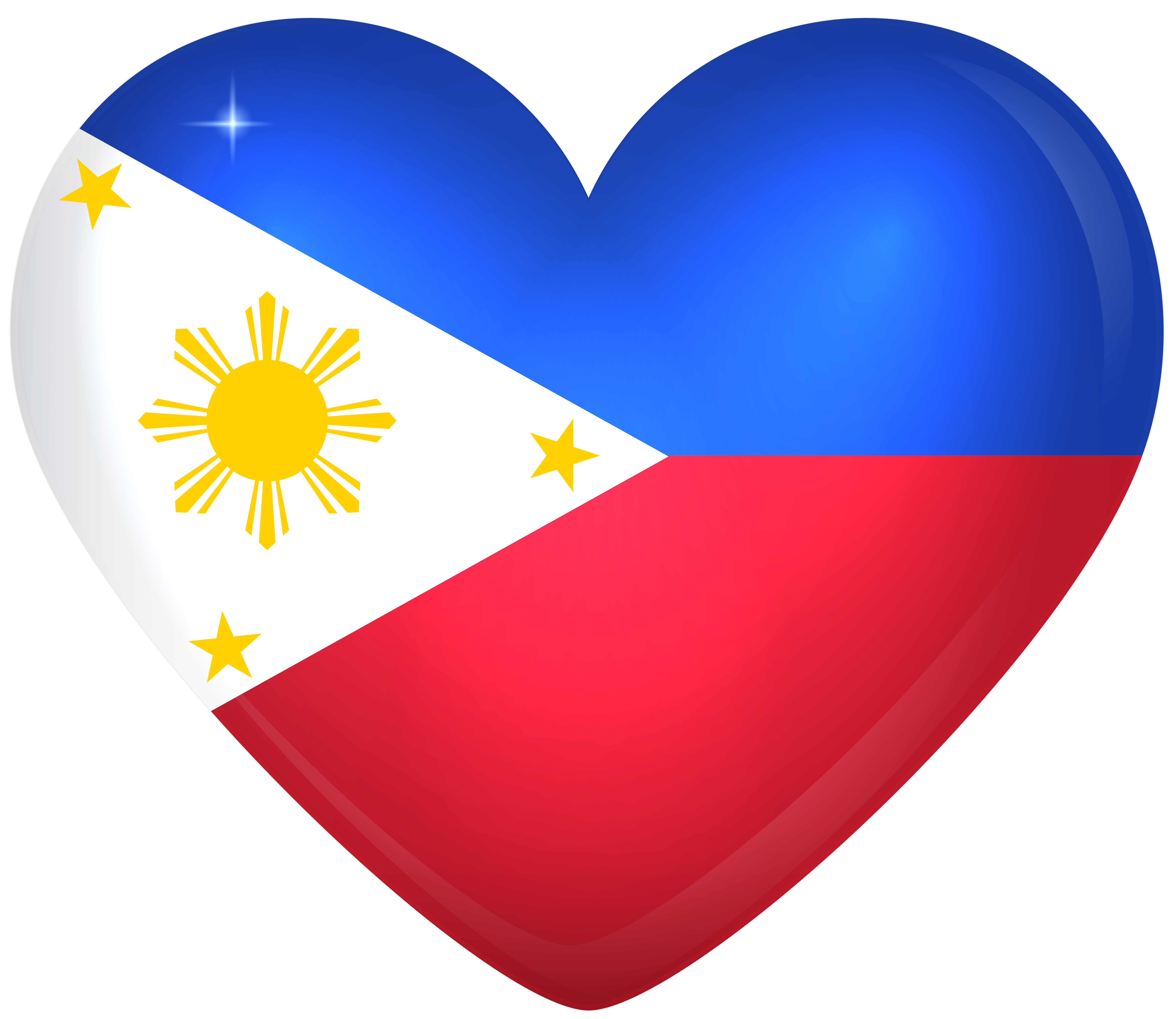 Hearts clipart flag. Philippines large heart gallery