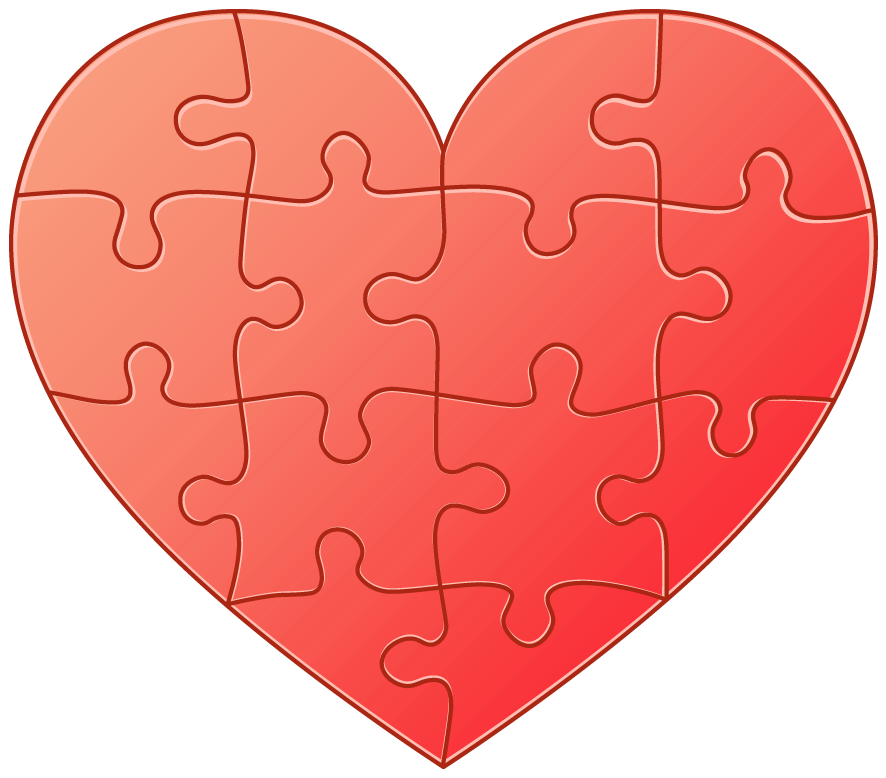 Puzzle clipart animated. Heart png gallery yopriceville