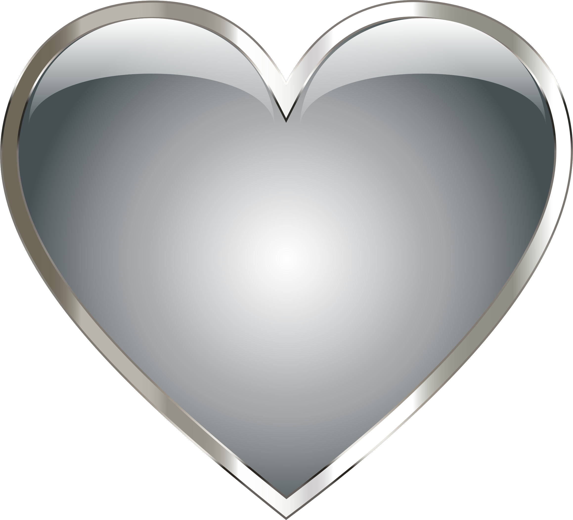 collection of gray. Clipart heart body