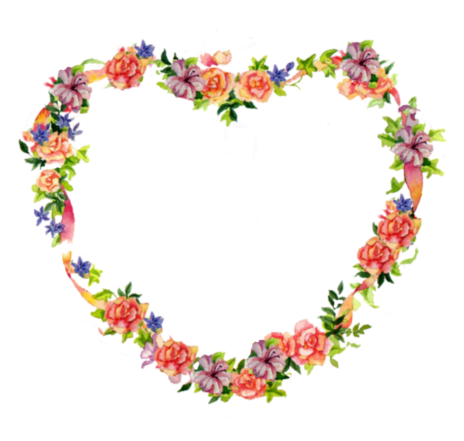 Clipart roses heart. Jinifur flower by on