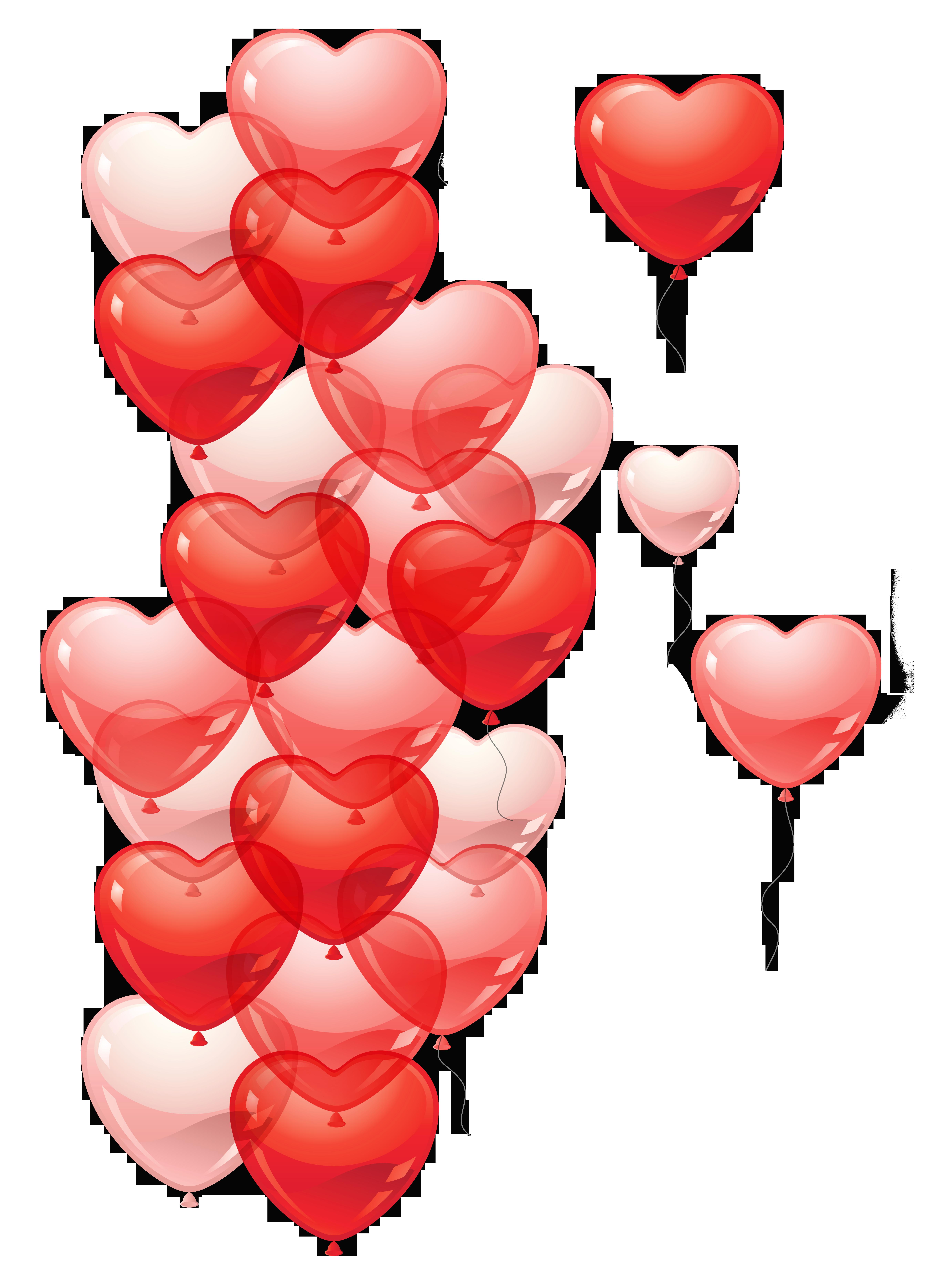 Transparent heart baloons png. Clipart hearts bubble