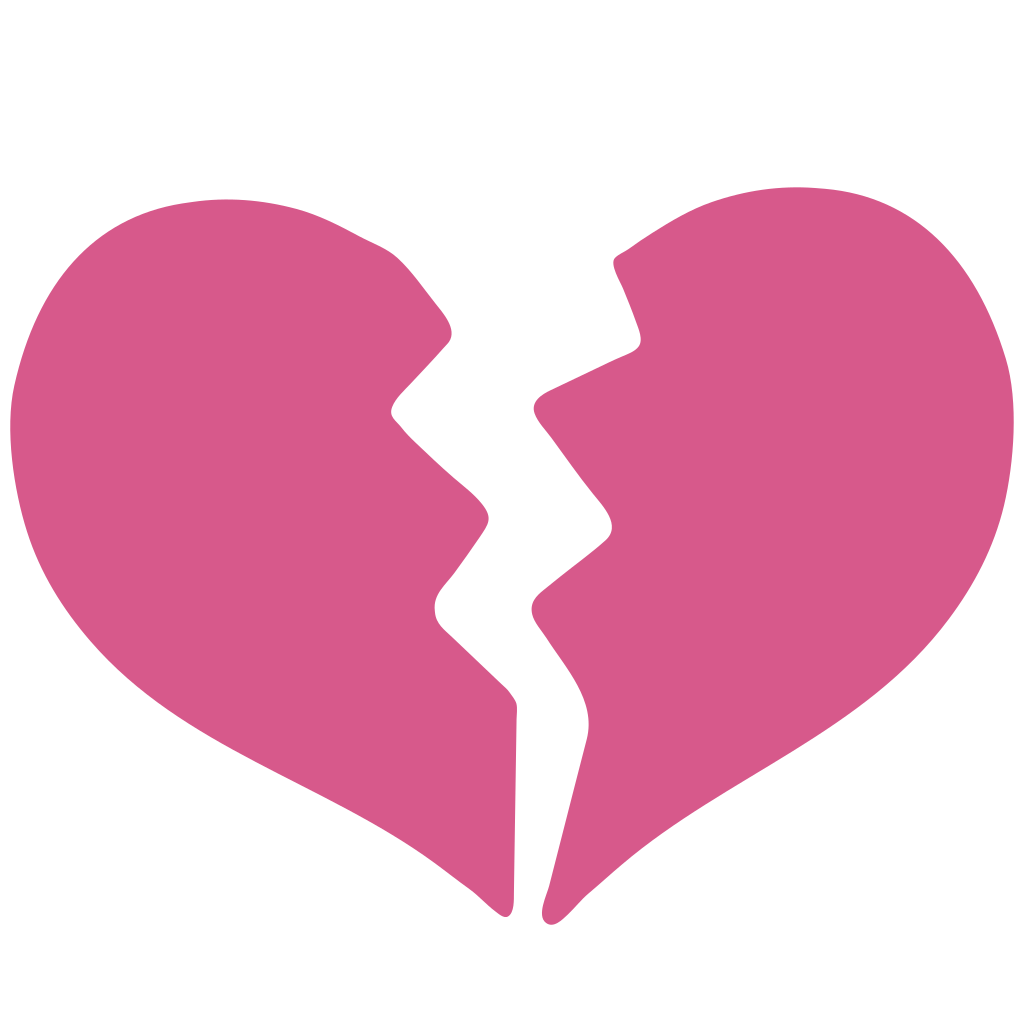 Pink broken png free. Heart clipart water