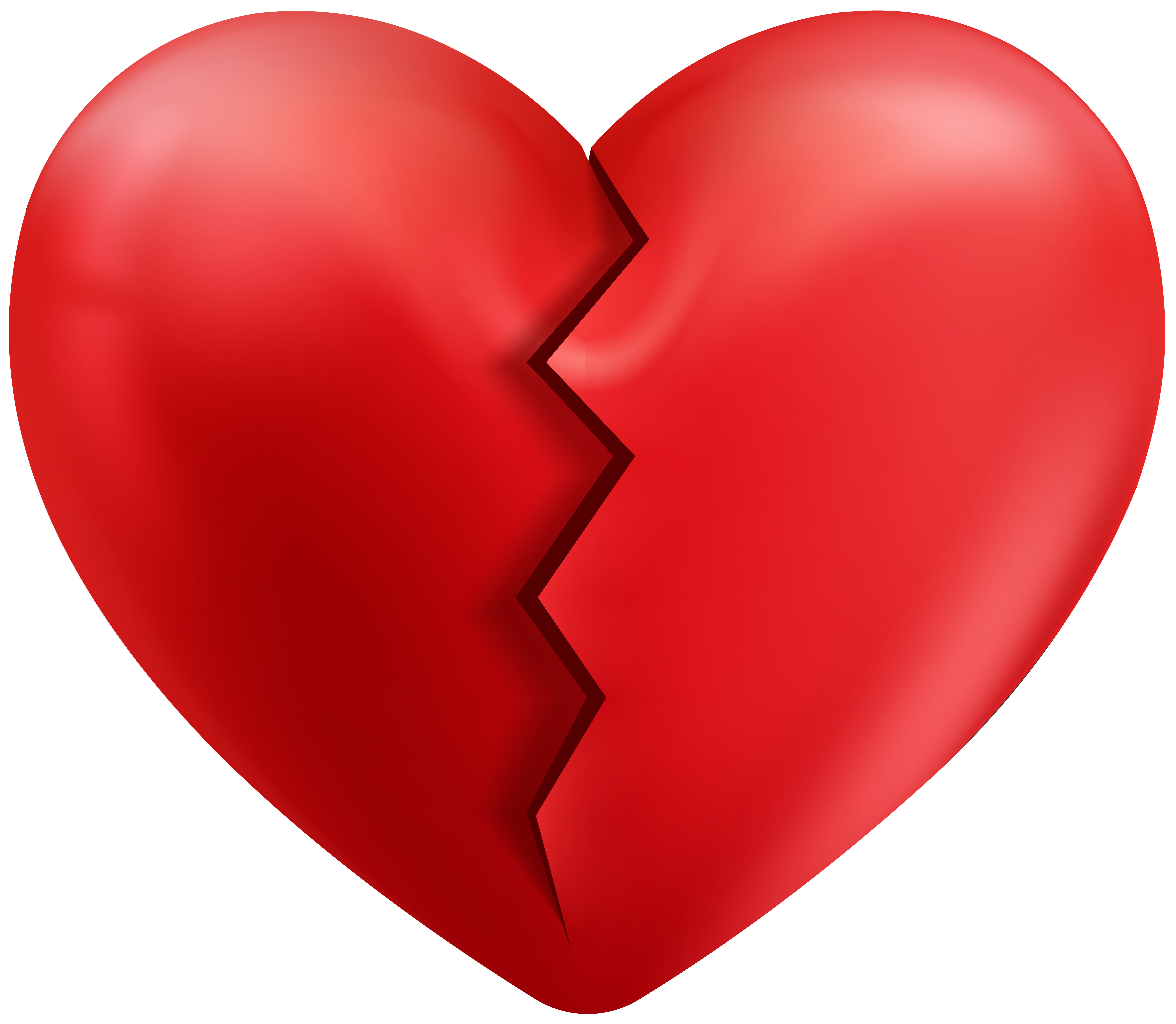 Hearts clipart strawberry. Cracked heart transparent png