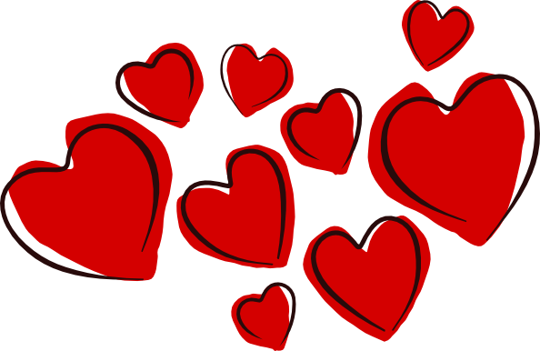 Hearts clip art png. Free pictures of cartoon