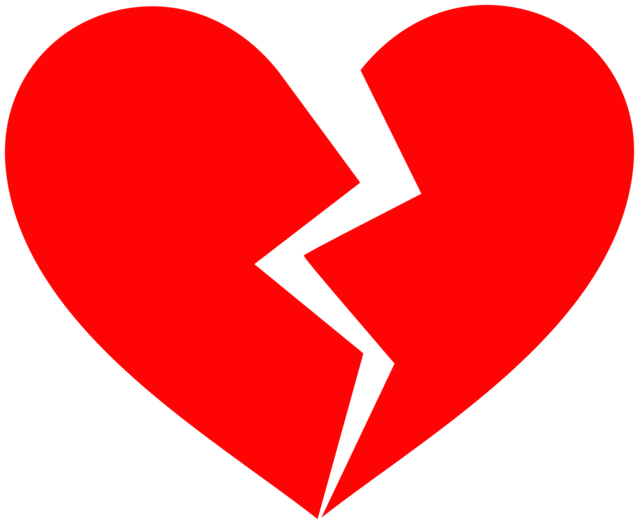 Hurt clipart love hurts. Break up blues thoughts