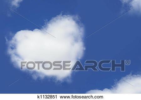 Portal . Cloud clipart heart