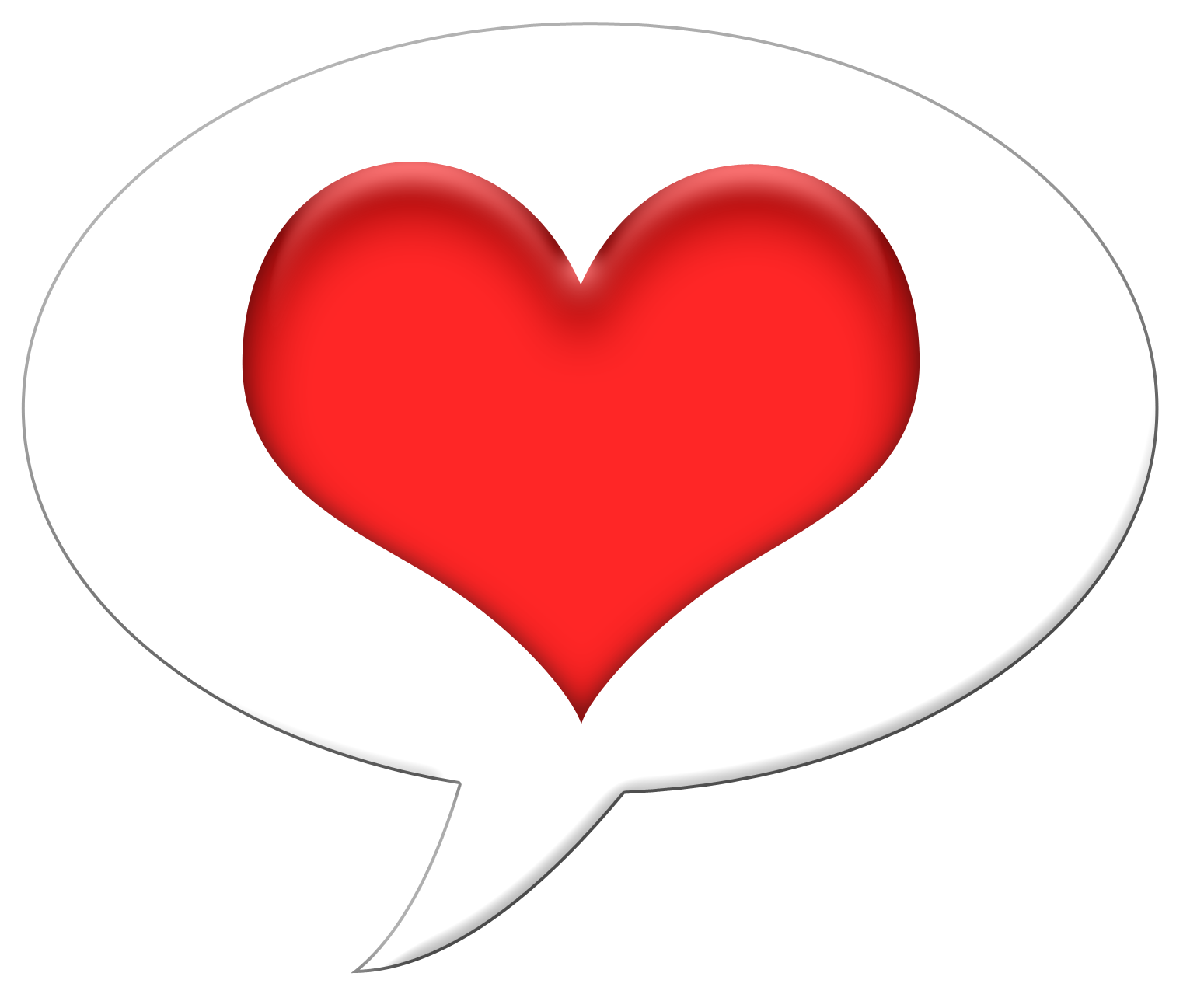 Talk heart karen cookie. Conversation clipart speech bubble