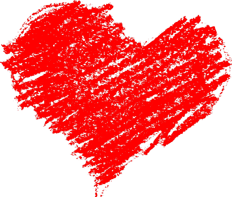 Crayons heart frames illustrations. Hearts clipart crayon