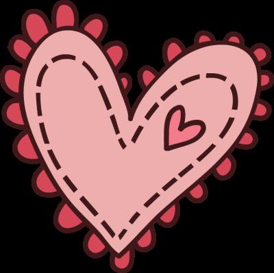 Hearts clipart cute. Cartoon melonheadz