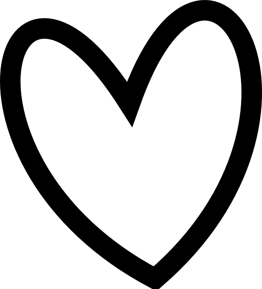 Clipart hearts handwritten.  collection of cute
