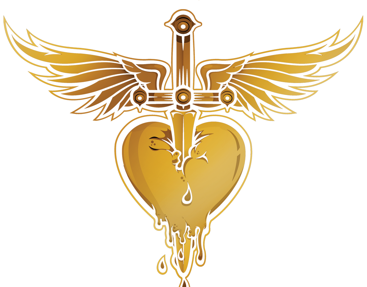 Pin bon jovi and. Clipart heart dagger