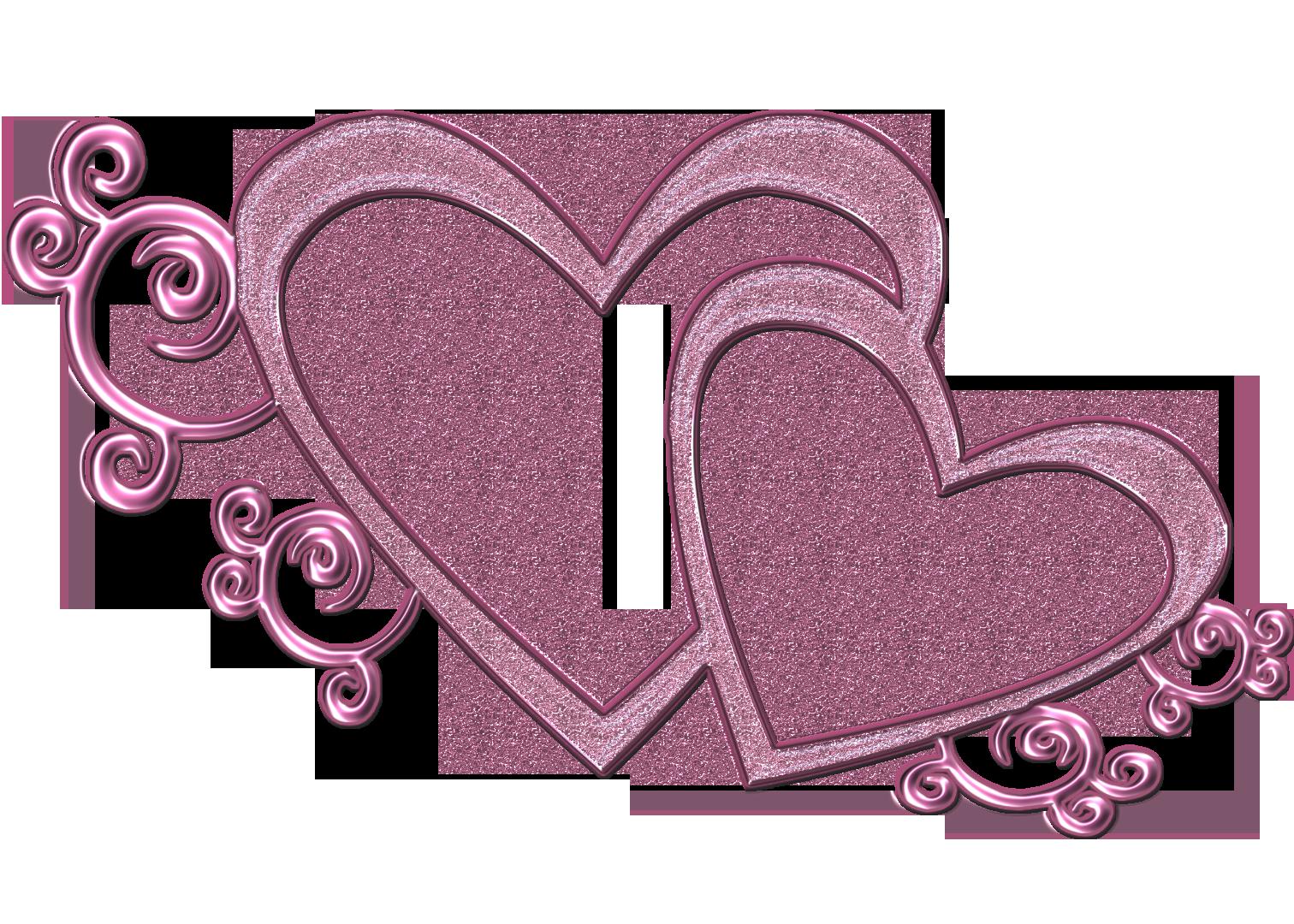 Clipart heart design. Wedding stylish double free