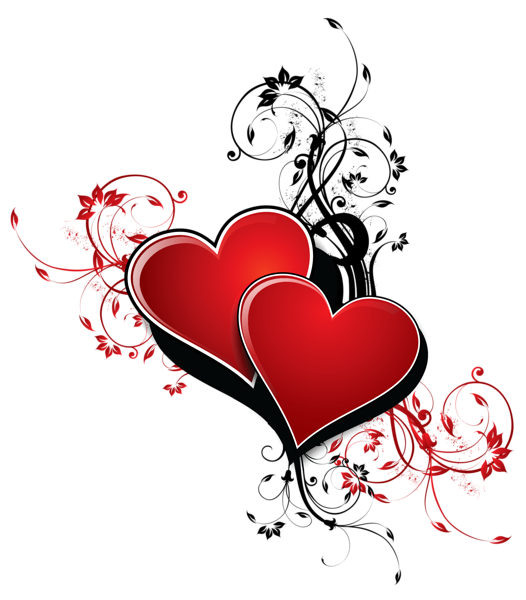 Clipart heart design. Hearts with decor png